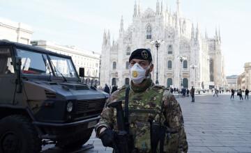 Italia anunță 683 noi decese provocate de coronavirus. Spania a depășit China la numărul de morți
