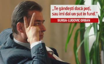 Interceptari in dosarul lui Orban, acuzat ca i-a cerut 50.000 de euro unui om de afaceri. \