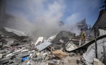 Un atac israelian în Gaza a ucis o familie de 10 persoane, majoritatea copii