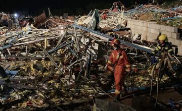 Două tornade au lovit China și au provocat cel puţin 12 morţi şi peste 400 de răniţi
