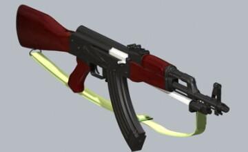 A fost arestata dupa ce a pozat provocator cu o arma AK-47. Descoperirea impresionanta pe care au facut-o politistii