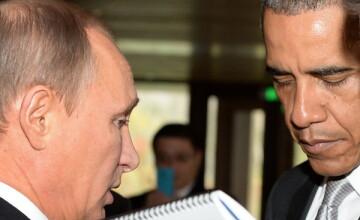 Razboiul declaratiilor intre Obama si Putin continua. Barack Obama: \
