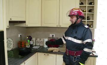 Sfaturile pompierilor in caz de incendiu. Ce sa NU facem niciodata daca focul izbucneste in propria casa