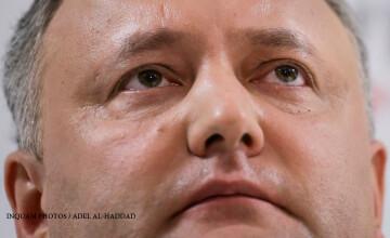 Noul presedinte al Moldovei anunta alegeri anticipate si ameninta Parlamentul. \