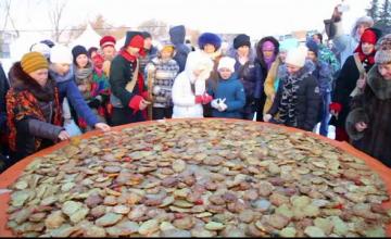 Clatita din cartofi cu diametrul de peste doi metri. Nou record stabilit de Rusia