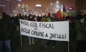 """""""Ei cu hoții, noi cu toții!"""". Noi proteste sunt anunțate duminică în Piața Victoriei"""