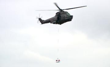 Misiune aeriană de salvare în condiţii meteorologice extreme simulată de piloți români