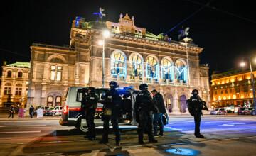 Atac terorist în Viena: 4 civili au murit şi 14 sunt răniţi. Un atacator a fost ucis