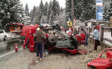 VIDEO. Imaginile accidentului provocat de Serban Huidu