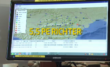Cutremurul din Vrancea a creat panica in Galati. Planul autoritatilor de a evacua oamenii din zona