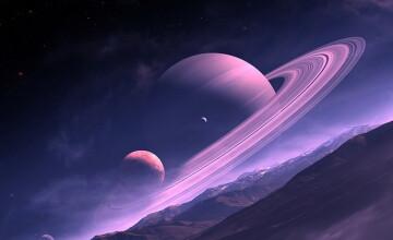Ploaie de diamante in atmosfera planetelor Saturn si Jupiter - studiu