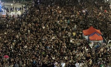 Manifestantii din Hong Kong, somati sa se disperseze pana luni, in urma unor noi violente