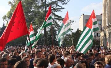 Georgia a avertizat Rusia in privinta anexarii Abhaziei: \