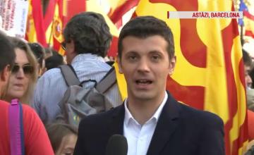Corespondenţă Ştirile ProTV din Barcelona. Mărturiile românilor, îngrijorați de pierderea jobului sau de salarii