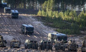 NATO declanşează cele mai mari manevre de la sfârşitul Războiului Rece. Mesajul transmis Rusiei