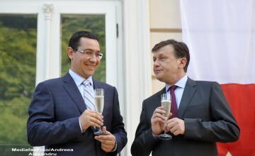 Ponta a intervenit intr-o emisiune TV unde era invitat Antonescu: \