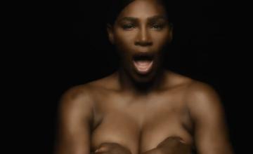 Serena Williams, dezbrăcată într-un clip pentru o campanie dedicată femeilor. VIDEO