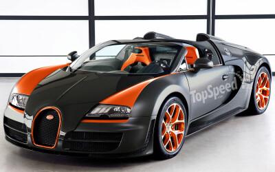 Prima imagine cu SUPER Veyron-ul de 1.600 de cai putere!