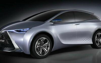 Toyota FT-HT! Un hibrid japonez face senzatie printre chinezi!