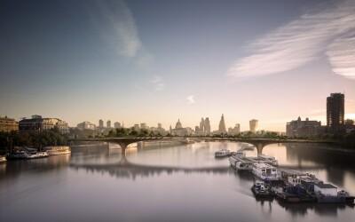 Asa o sa arate podul de 275 de milioane de dolari din Londra! FOTO