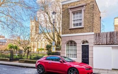 Cum arata una dintre cele mai mici case din Londra! Are doar 27 de metri patrati, dar stai sa vezi pretul