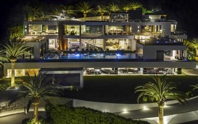 Are 21 de bai si propria sala de teatru! Cum poate sa arate casa de 250 de milioane de dolari, cea mai scumpa din SUA! FOTO  VIDEO
