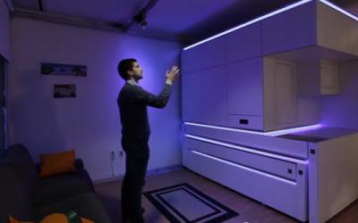 Asa ar putea arata apartamentul viitorului: VIDEO