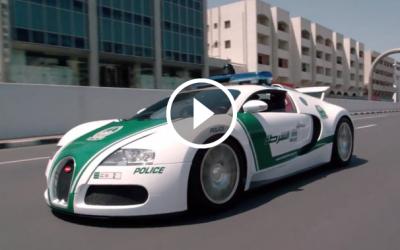 Ce masini conduc politistii in Dubai: Doar astea 3 de aici fac 6 milioane de dolari... VIDEO