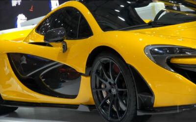GENEVA 2013: Primele imagini cu noul McLaren P1 la salonul auto: 1,3 milioane de dolari, 217 km/h... Hybrid! GALERIE FOTO