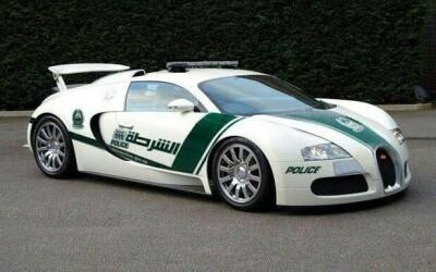 Nu poti fugi de el! Acesta e primul Bugatti Veyron de politie!