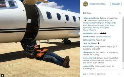 Copiii bogati de pe Instagram au de acum rivali chiar in...parintii lor. A aparut contul Rich Parents of Insta