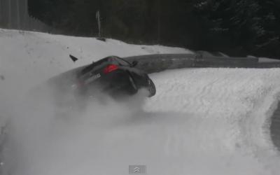 Ce surprind de fapt camerele la TESTELE de pe Nürburgring: Curba aia e blestemata VIDEO