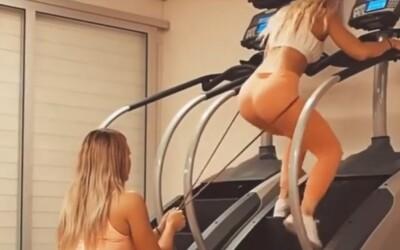 Provocarea care a innebunit internetul! Ce fac aceste 2 femei din imagine VIDEO