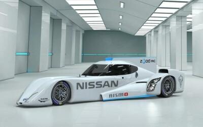 Nissan vrea sa zboare la La Mans cu o racheta electrica: FOTO cu automobilul imposibil :