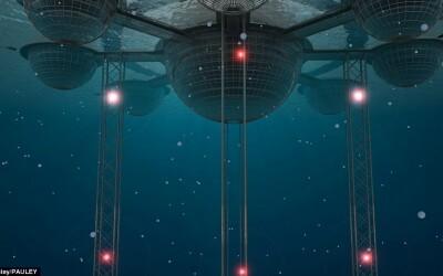 Asa ar putea arata orasul subacvatic: VIDEO