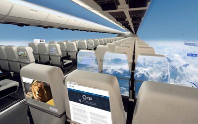 Avionul fara ferestre, proiectul care ar putea fi gata in 10 ani! VIDEO