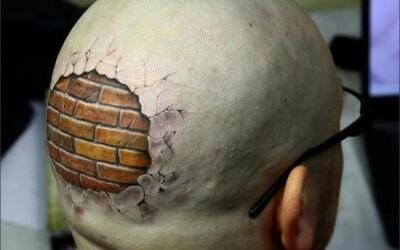Vrei asa ceva? Uite care sunt cele mai tari tatuaje 3D: GALERIE FOTO