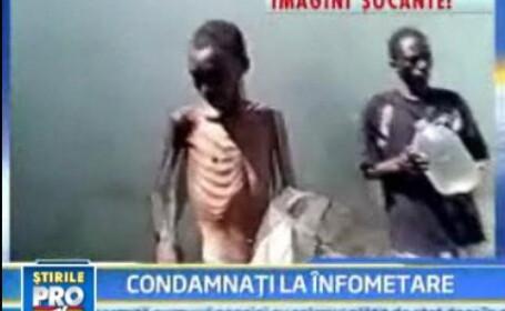 IMAGINI SOCANTE! Prizonieri morti de foame in Zimbabwe!