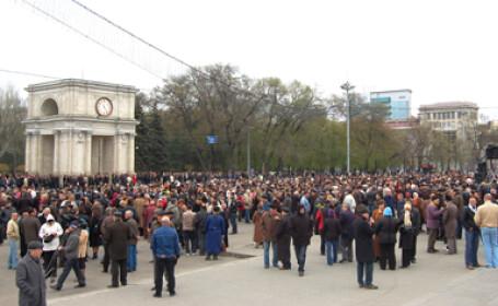 Tensiune in sindicate! Angajatii au pichetat mai multe institutii