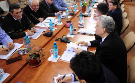 Sedinta la Ministerul Agriculurii
