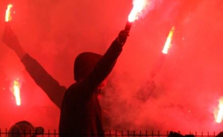 Suporteri Dinamo - Rapid