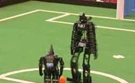 roboti fotbalisti
