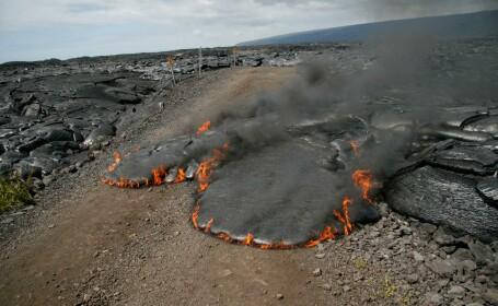600 de oameni au fost evacuati in Islanda din calea lavei!