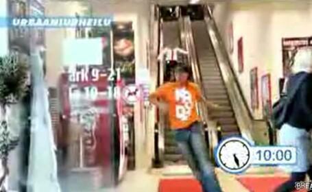 Cowboy temerar, caut senzatii tari in mall-uri!