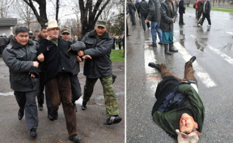 Bilant tragic: 97 de morti si 1200 de raniti in luptele din Kargazstan