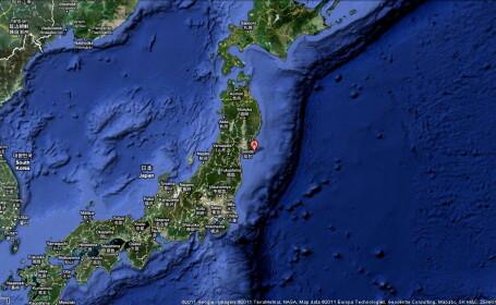 Cutremur cu magnitudinea 7 in nordul Japoniei. Pentru moment nu a fost emisa alerta de tsunami
