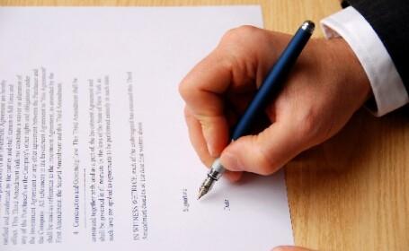 fisa postului, contract, semnatura