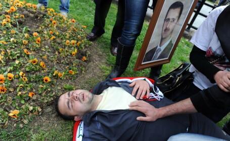 Suporteri ai regimului Bashar al-Assad