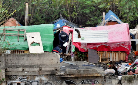 Sute de romi s-au mutat intr-un cartier din Berlin si au format un nou sat \