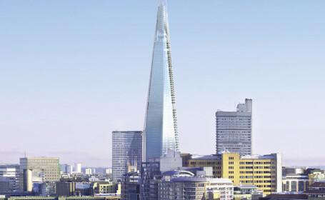 Londra a inaugurat cea mai inalta cladire din Europa. Recordul ar putea fi batut repede